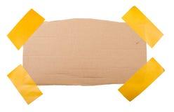 Ярлык картона Стоковое Изображение