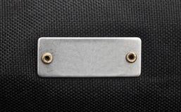 Ярлык металла Стоковое Изображение RF