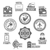 Ярлык обслуживания столба бесплатная иллюстрация