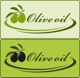 Ярлык оливкового масла Стоковое фото RF