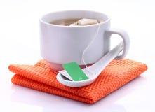 Ярлык пакетика чая стоковое фото