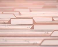 Ярлык файлов белый Стоковые Фото