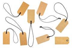 Ярлык ценников или продаж картона Стоковое фото RF