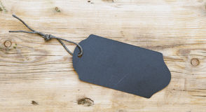 Ярлык черноты продукта Стоковое Фото