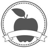 Ярлык Яблока Стоковая Фотография RF