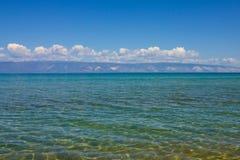 ясная вода озера Стоковая Фотография RF