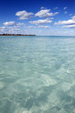 ясная вода океана Стоковое Изображение RF