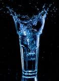 ясная вода выплеска Стоковое Изображение RF