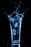ясная вода выплеска Стоковые Изображения RF