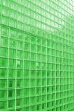ясная зеленая подкрашиванная плитка текстуры Стоковые Изображения RF