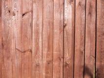 Ясная и детальная текстура деревянной загородки снаружи в li солнца Стоковые Изображения