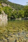 ясная речная вода Стоковые Фотографии RF