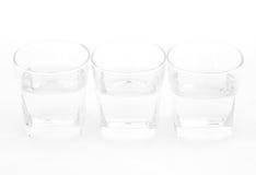 ясная стеклянная вода Стоковые Изображения RF