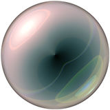 ясная стеклянная сфера Стоковые Изображения RF