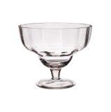 Ясная стеклянная изолированная ваза Стоковое Изображение RF