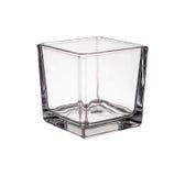 Ясная стеклянная изолированная ваза Стоковые Изображения