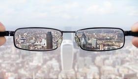Ясное зрение дела Стоковая Фотография RF