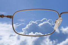ясное зрение стоковая фотография