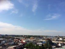 Ясное небо утра Стоковые Фото