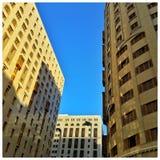 Ясное небо стоковая фотография rf