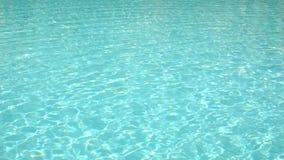 Ясное открытое море в бассейне с слепимостью, медленно видеоматериал