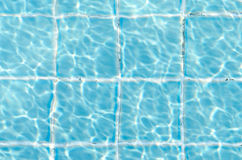 Ясной вода сорванная синью Стоковая Фотография RF
