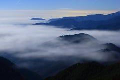 ясность заволакивает большое небо моря Стоковые Фотографии RF