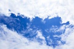 ясность заволакивает небо стоковое фото