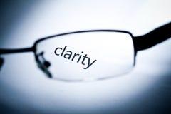 ясность стоковое изображение