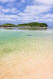 ясный коралл трясет воды Стоковая Фотография RF