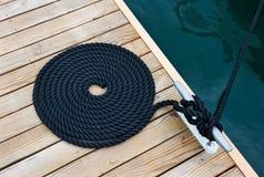 яхта веревочки Стоковая Фотография