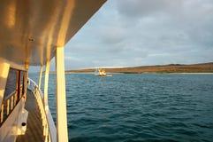 яхта взгляда galapagos cruse Стоковая Фотография