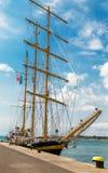Яхта в порте Стоковые Фотографии RF