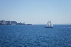 Яхта гонок Стоковая Фотография RF