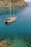 яхта залива Стоковое Изображение RF
