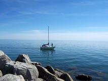 яхта ландшафта Стоковые Фото