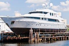 яхта Марины Стоковая Фотография