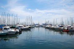 яхта Марины Стоковые Фотографии RF