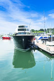 Яхта Марины Стоковые Изображения