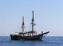 яхта моря Стоковые Изображения