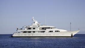 яхта мотора демикотона Барвары Стоковая Фотография