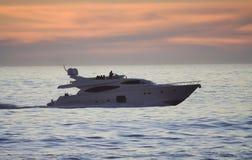 яхта мотора Стоковое Изображение