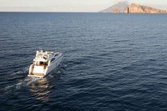 Яхта мотора стоковые фото