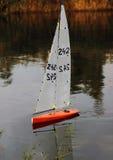 Яхта на воде стоковое фото