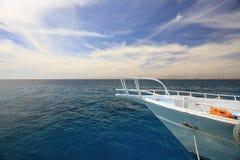 Яхта носа Стоковые Изображения RF