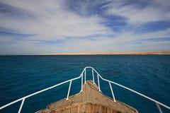 Яхта носа Стоковая Фотография