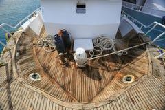 Яхта носа Стоковое фото RF