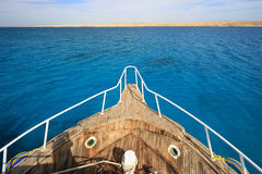 Яхта носа Стоковые Фотографии RF