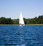 яхта озера Стоковая Фотография RF