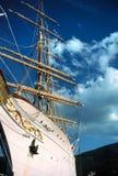 яхта острова elba стоковое изображение rf